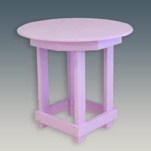 Round Outdoor Bar Table 36""