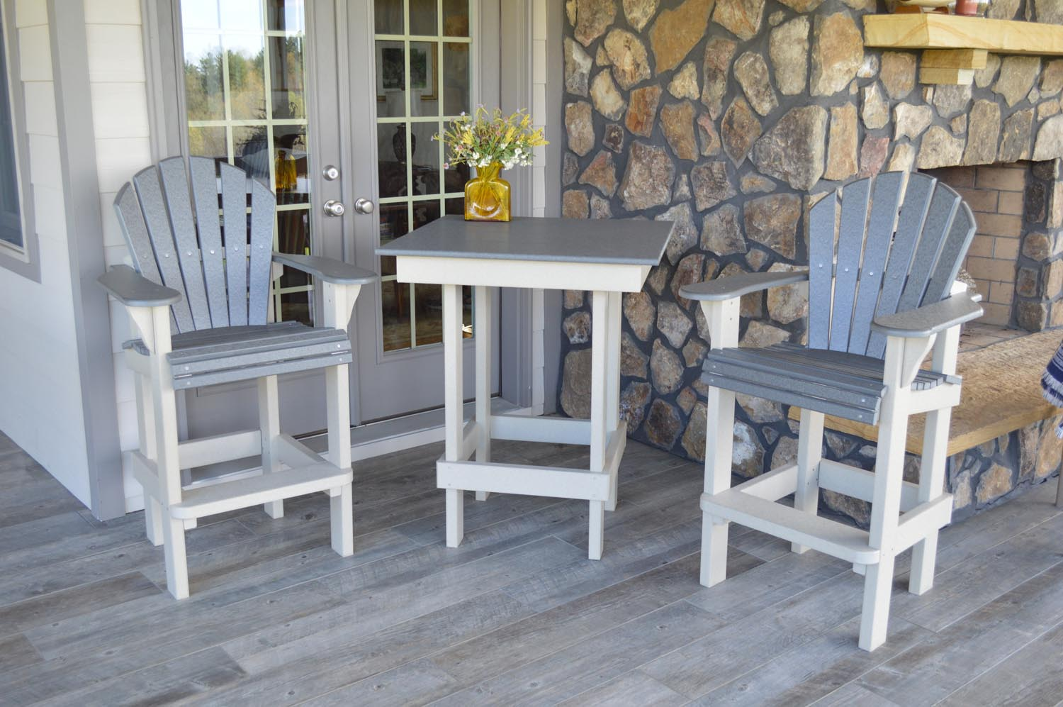 Eco-friendly, made in America, Built To Last Outside Bar Furniture