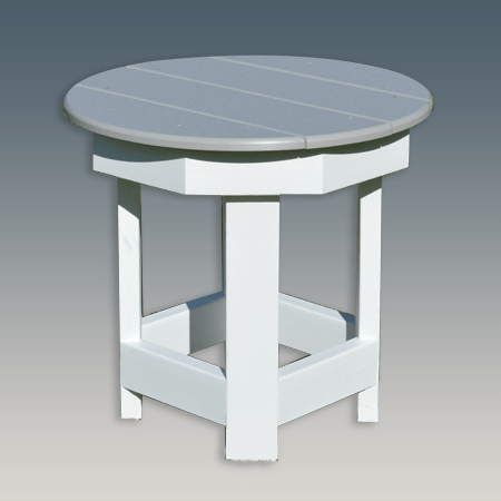 Round Side Table for Garden