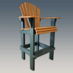 Tall Outdoor Bar Chair