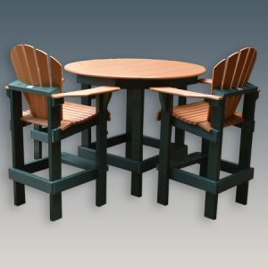 Round Bar Table 48 ""