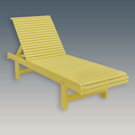 Outdoor Chaise Lounge reclining pool chair