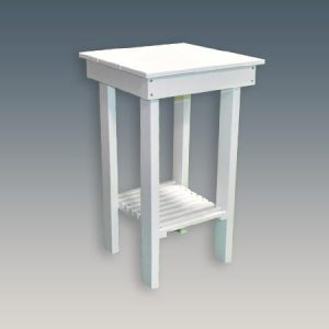 Dolphin Watch Side Table for Tall Chairs