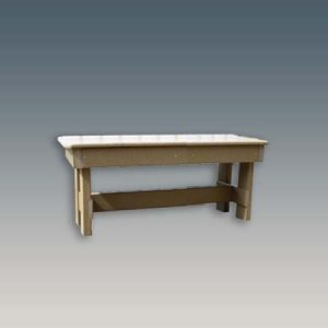 33 inch weatherproof outdoor dining bench