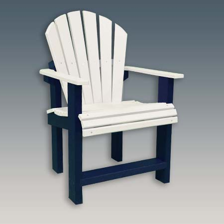 Narrow Arm Dining Chair for Outdoors